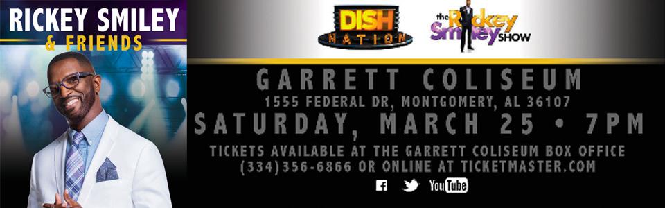 Rickey Smiley & Friends at the Garrett Coliseum