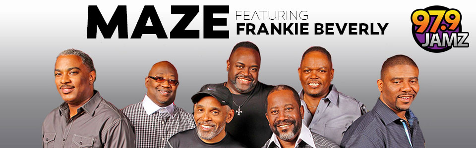 Maze f. Frankie Beverly and more at the Boutwell Auditorium Oct 26