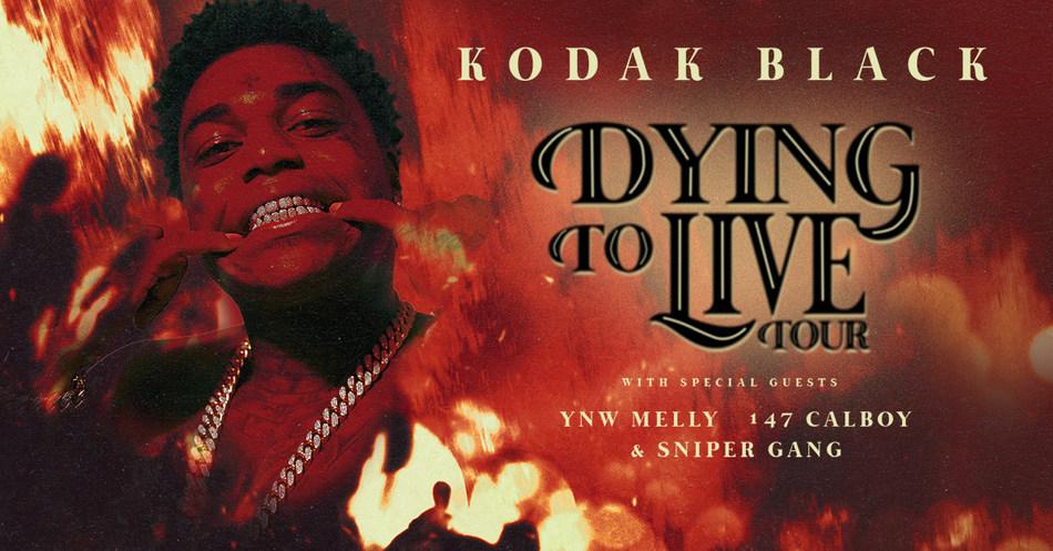 Kodak Black at the Boutwell Auditorium on April 5!