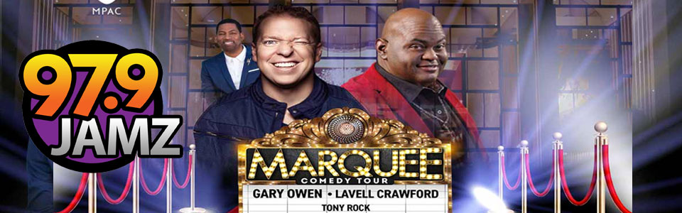 The Marquee Comedy Tour Sept 28 at the MPAC