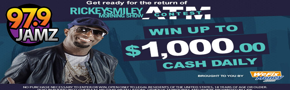 Rickey Smiley Morning Show ATM Contest